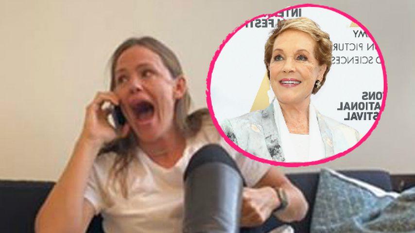 Idol Julie Andrews rief sie an: Jen Garner flippt total aus!