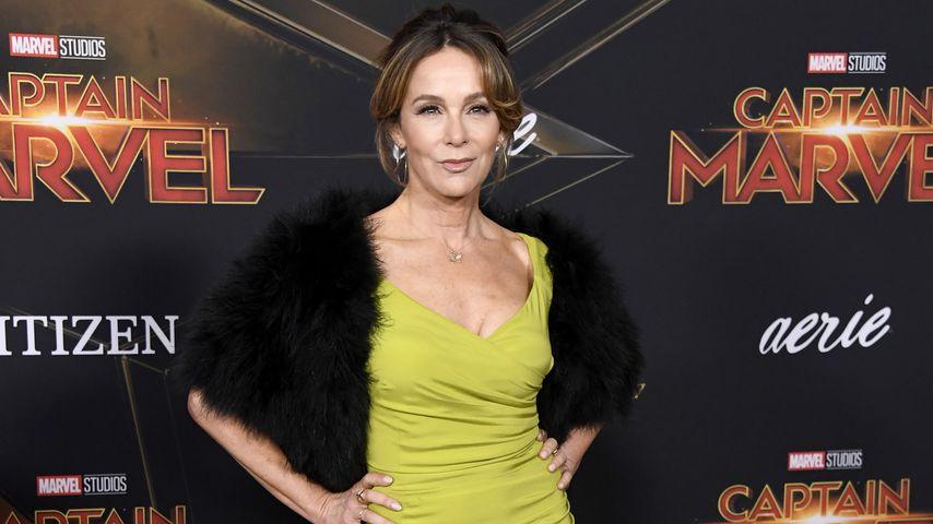 """Jennifer Grey bei der Premiere von """"Captain Marvel"""" im März 2019"""