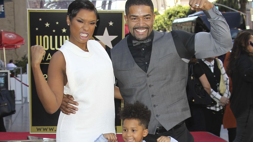 Jennifer Hudson, David Otunga und David Otunga Jr.
