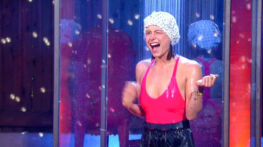 Jennifer Lange bei einem Sommerhaus-Spiel