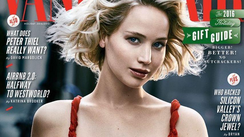 "Jennifer Lawrence auf dem Cover von ""Vanity Fair"""