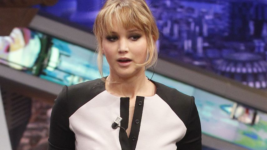 Jennifer Lawrences' Kleid: Enger geht's nicht!
