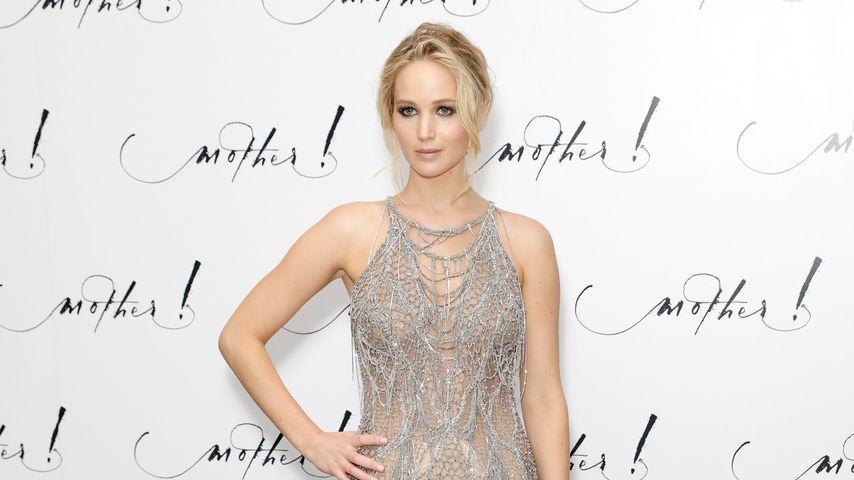"""Jennifer Lawrence bei der London-Premiere von """"mother!"""" 2017"""