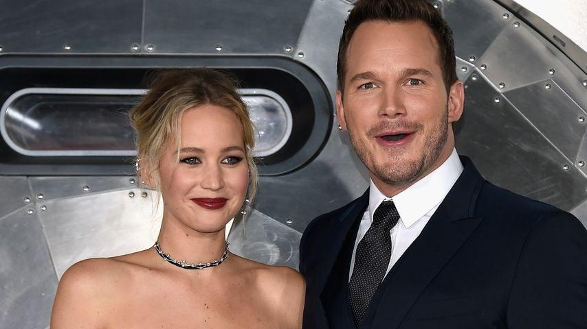 """Jennifer Lawrence und Chris Pratt bei der """"Passengers""""-Premiere"""