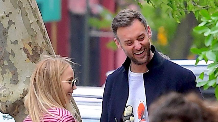 Jennifer Lawrence mit ihrem Verlobten Cooke Maroney