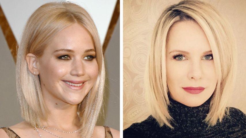 Style-Vorbild: Monica Ivancan macht auf Jennifer Lawrence
