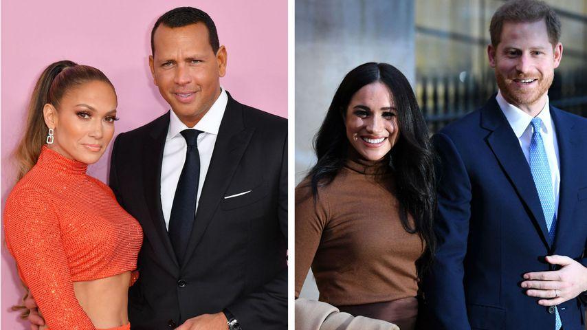 Vierer-Date: Sind J.Lo und A-Rod neue BFFs der Sussexes?