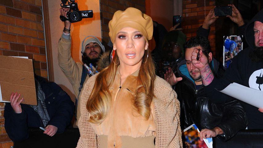 """Jennifer Lopez bei der """"Daily Show"""" in New York"""