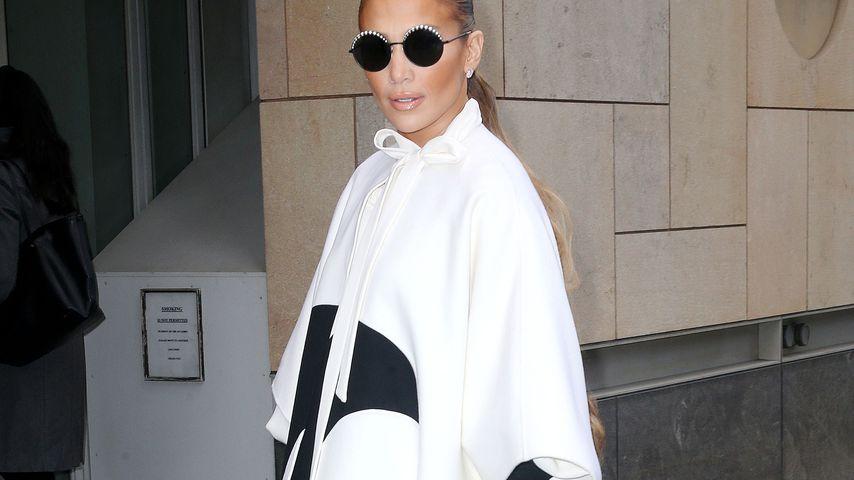 Jennifer Lopez vor den ABC Studios in New York