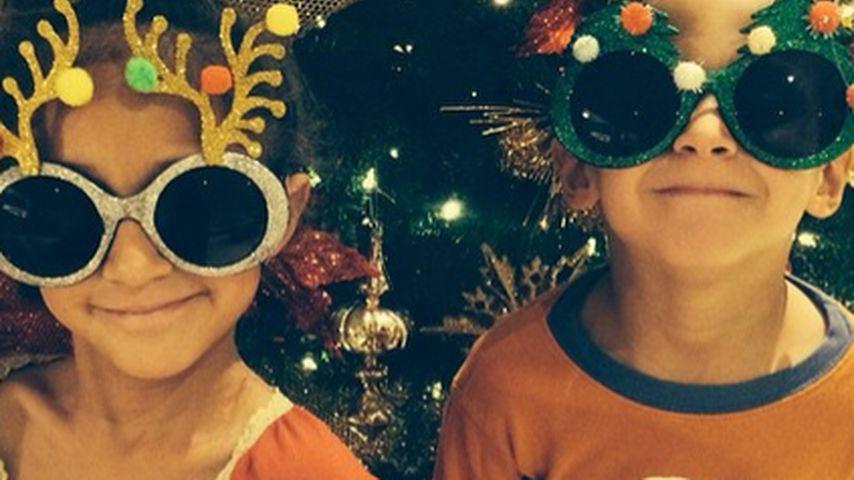 Diese beiden sind J.Los größte Weihnachtsgeschenke