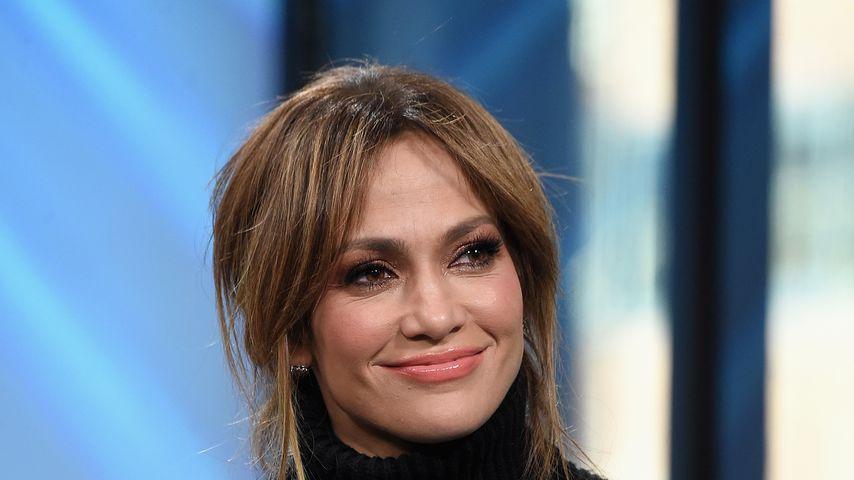 """Jennifer Lopez bei einer """"Shades Of Blue""""-Podiumsdiskussion 2017"""