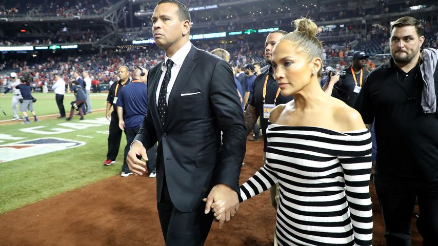 Jennifer Lopez mit ihrem Ex-Verlobten Alex Rodriguez