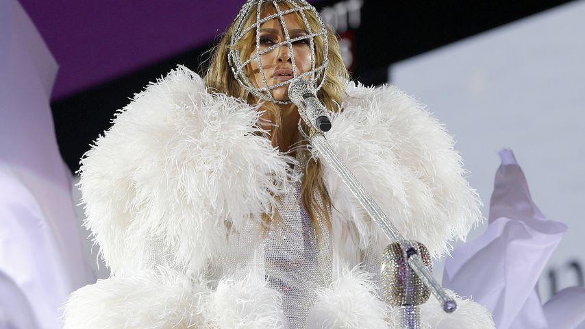 Jennifer Lopez bei der Silvester-Feier in NYC im Dezember 2020