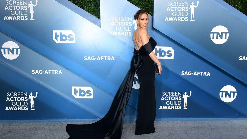 Jennifer Lopez bei den Screen Actors Guild Awards im Januar 2020