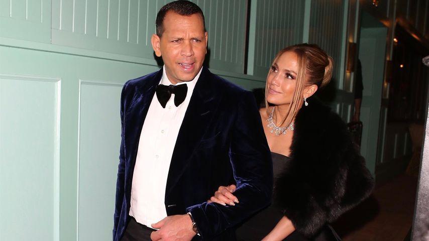 Alex Rodríguez und Jennifer Lopez in West Hollywood, Januar 2020