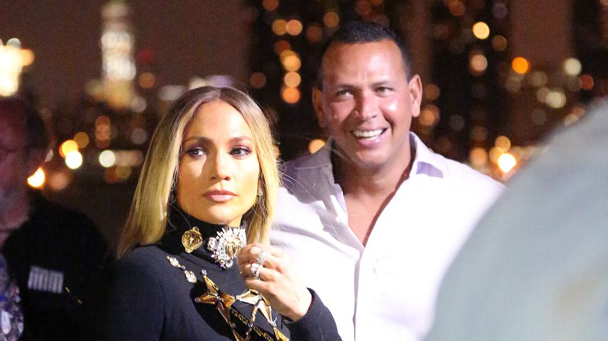 Konzert-Flirt: So beglückt A-Rod seine Jennifer Lopez in NY!