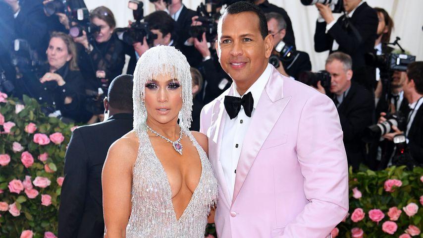Jennifer Lopez und Alex Rodriguez bei der Met Gala 2019