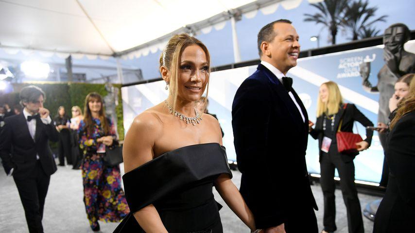 Jennifer Lopez und Alex Rodriguez, 2020