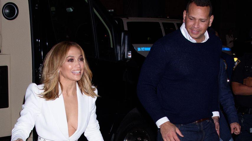 Jennifer Lopez und Alex Rodriguez in New York, September 2019