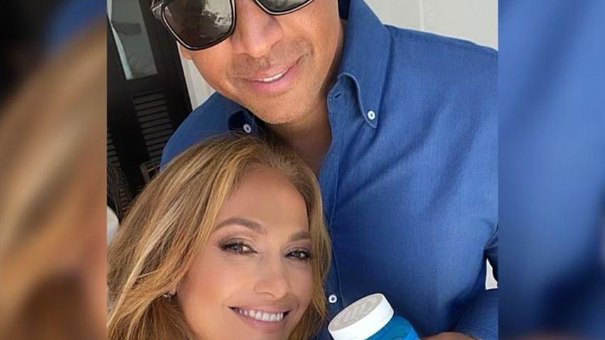 Nach Trennungsgerüchten: A-Rod teilt neues Selfie mit J.Lo