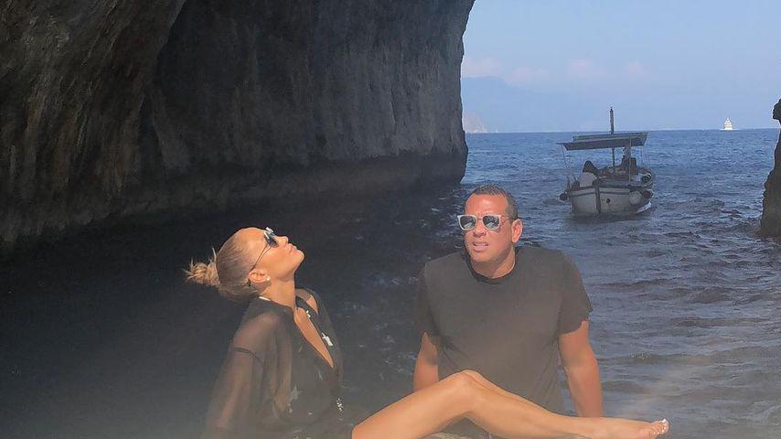 Jennifer Lopez und Alex Rodriguez in Italien