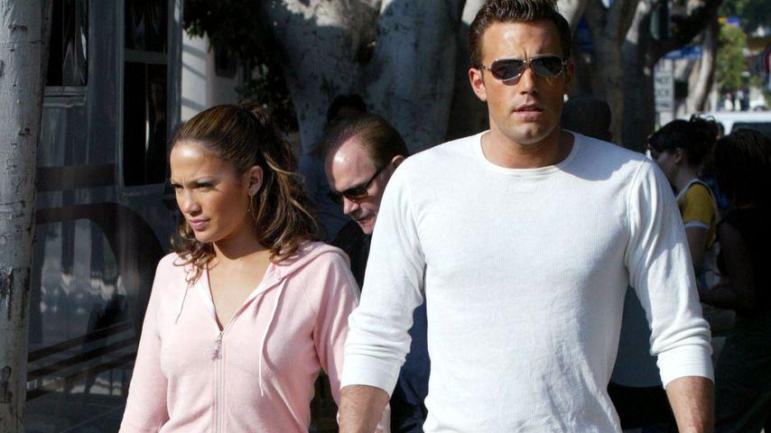 Jennifer Lopez und Ben Affleck, 2002