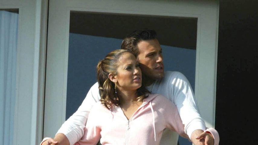 Jennifer Lopez und Ben Affleck, Dezember 2002