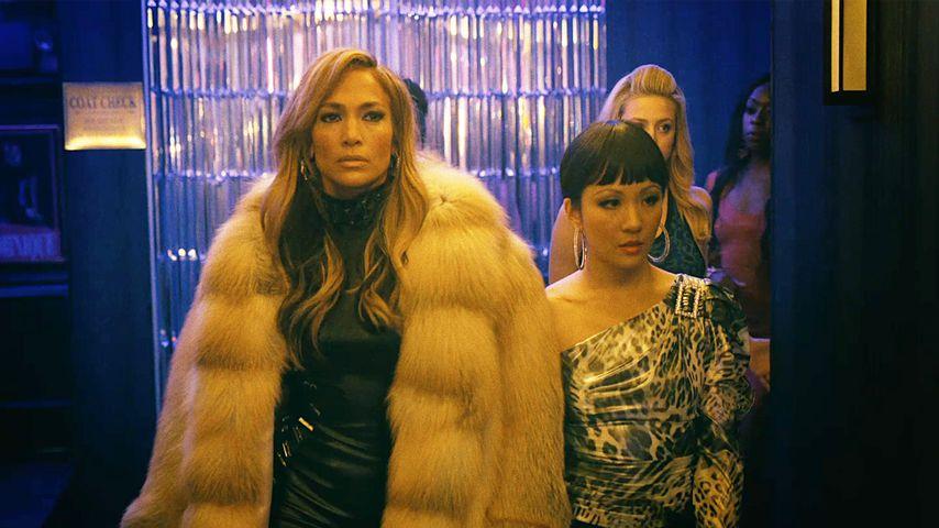 """Jennifer Lopez und Constance Wu im Film """"Hustlers"""""""