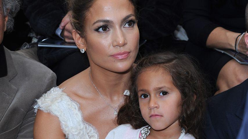 Jennifer Lopez und Tochter Emme Maribel Muñiz im Oktober 2012