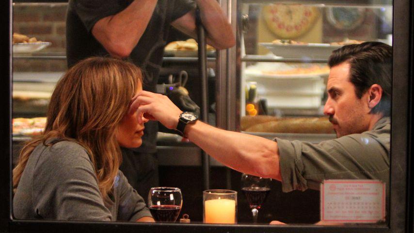 Was geht denn da? Milo Ventimiglia hat Date-Night mit J.Lo!