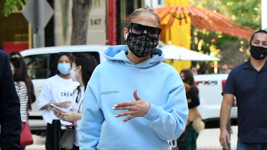 Jennifer Lopez, Dezember 2020 in Miami