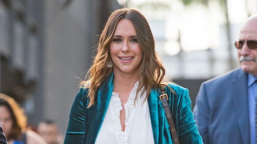 """Jennifer Love Hewitt vor ihrem Auftritt bei der """"Jimmy Kimmel Show"""" im September 2018"""