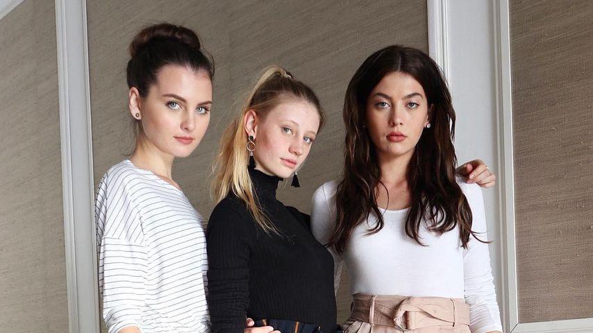 Jennifer, Trixi und Christina, GNTM-Kandidatinnen 2018