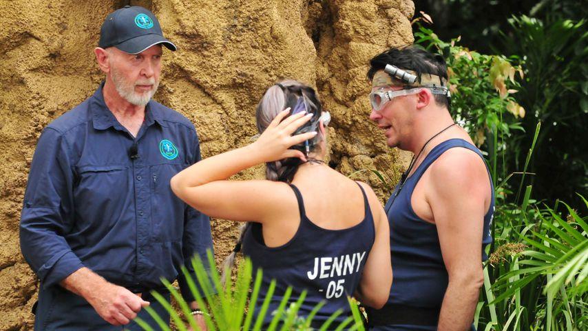 Jenny Frankhauser und Matthias Mangiapane mit Dr. Bob
