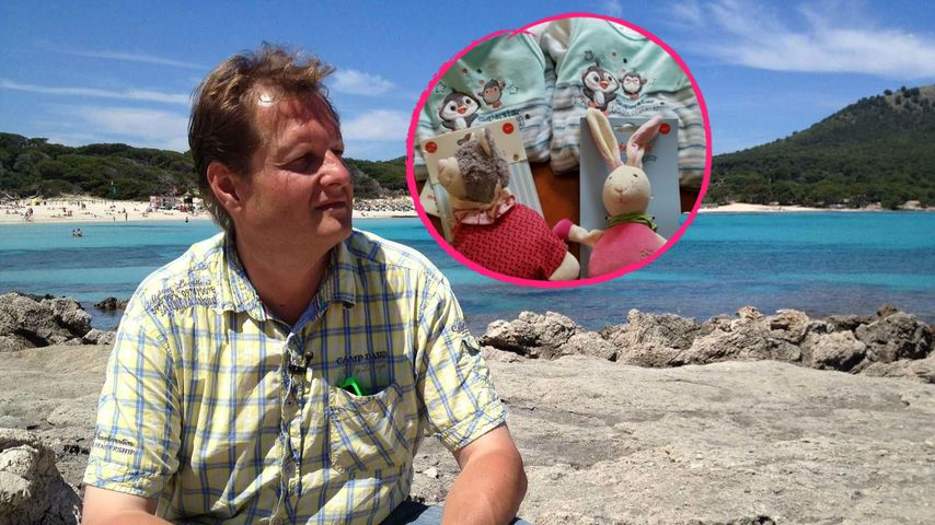 Er wird Zwillings-Papa: Mallorca-Jens total im Babywahn