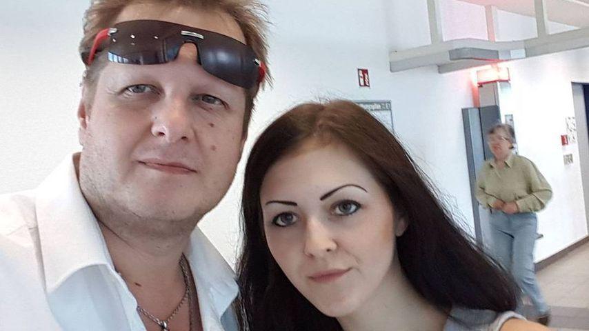 Jens Büchner mit seiner Tochter Jenny