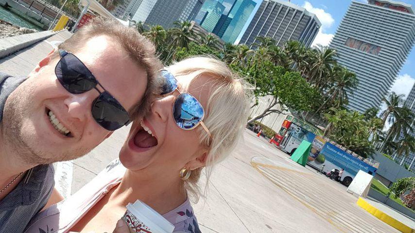 Jens Büchner und Daniela in Miami