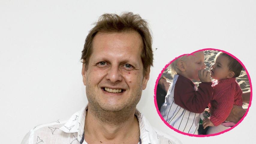 Ablenkung: Jens Büchners Kids treffen Peggy Jerofkes Baby