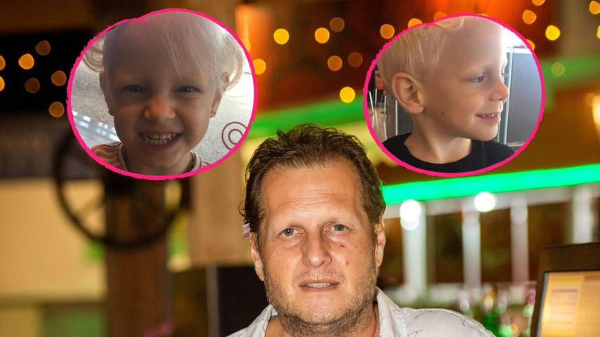 Erstmals ohne Papa Jens: Büchner-Zwillinge feiern Geburtstag