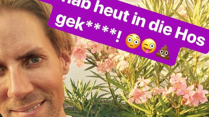 Klo-Unfall: PBB-Star Jens Hilbert machte sich in die Hose