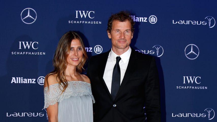 Jens Lehmann mit seiner Frau Conny