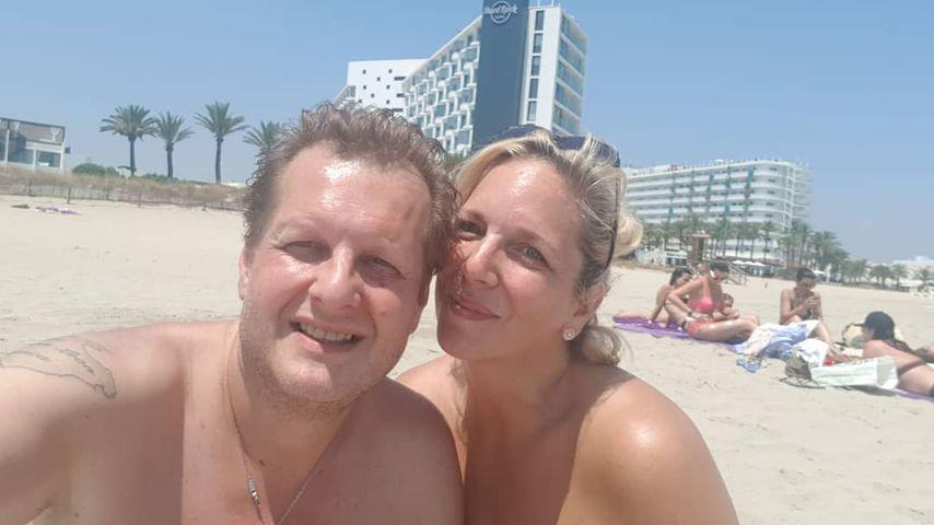 Jens und Daniela Büchner am Strand
