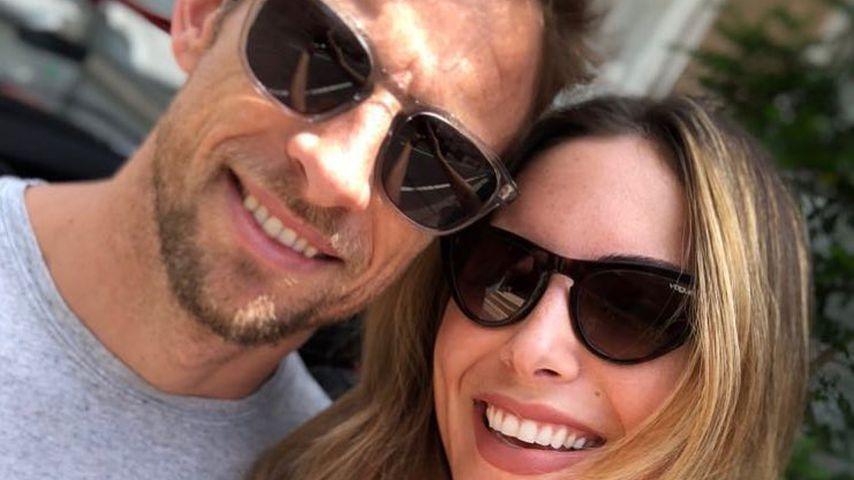 Jenson Button und Brittny Ward