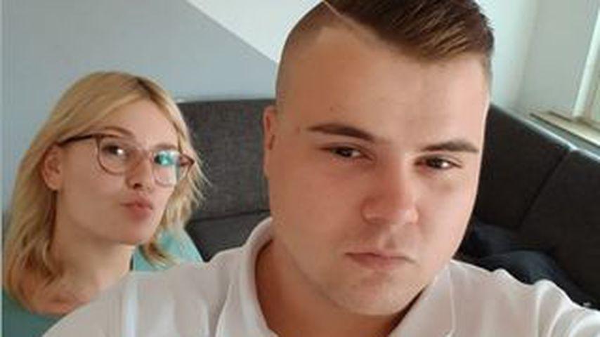Jeremy-Pascal Wollny mit seiner Freundin Celine