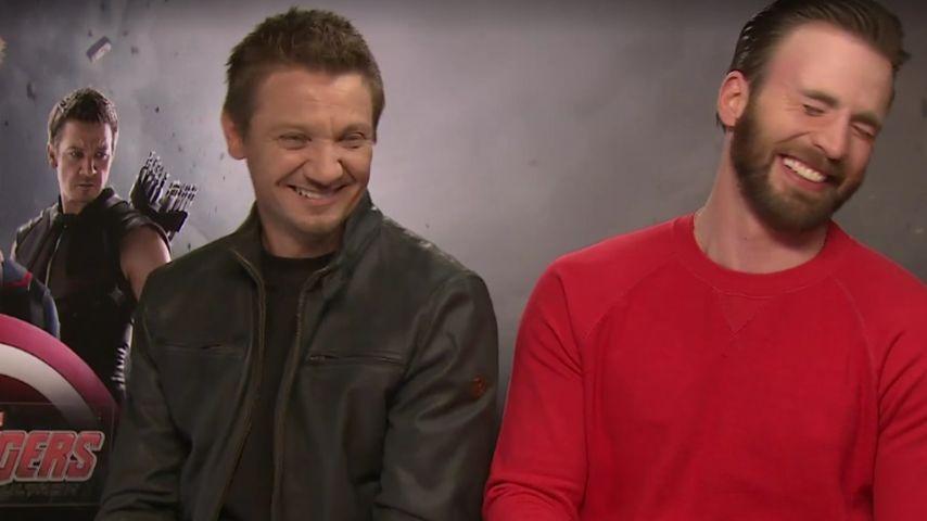 Chris Evans und Jeremy Renner
