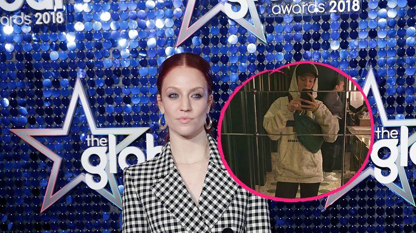 Jess Glynne wurde in diesem Outfit von Restaurant abgelehnt