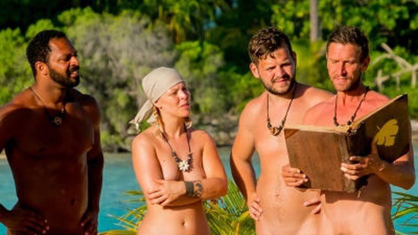 Jesse, Leonore Bartsch, Kushtrim und Peer Kusmagk bei Adam sucht Eva