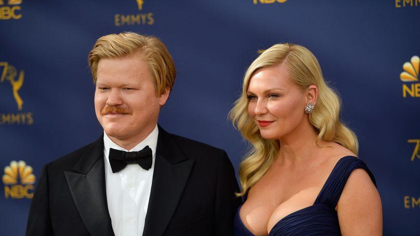 """""""Fargo""""-Stars Jesse Plemons und Kirsten Dunst bei den Emmy Awards, 2018"""