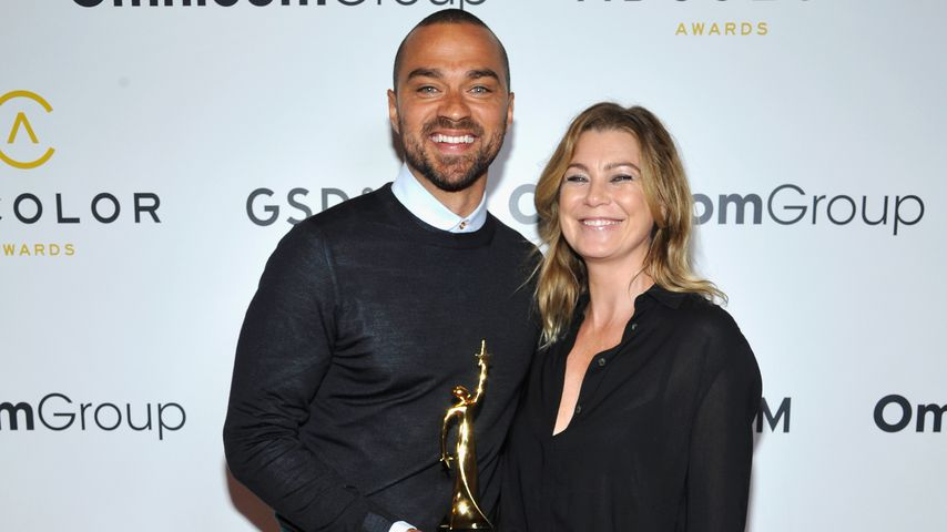 Jesse Williams  und Ellen Pompeo