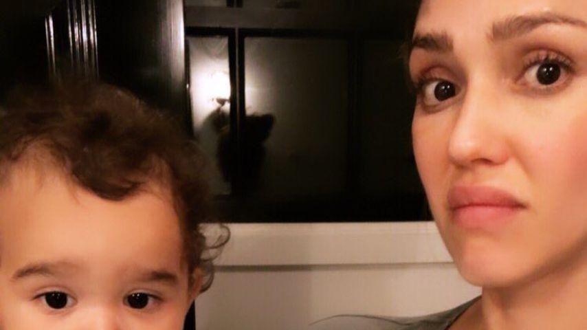 Zu viel des Guten? Jessica Alba zeigt Häufchen ihres Sohnes